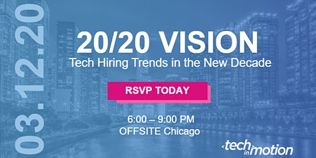 POSTPONED: 2020 Vision: Tech Hiring Trends in the New Decade tickets