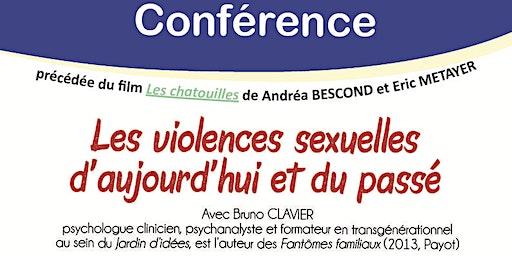 """Ciné-débat """"Les violences sexuelles d'aujourd'hui et du passé"""""""