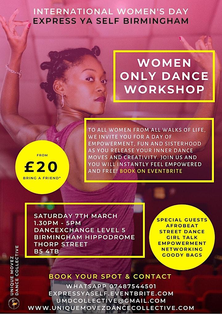 International Women's Day - Dance Workshop image