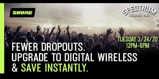 Shure Upgrade to Digital Event + RF Training Class - Spectrum Sound
