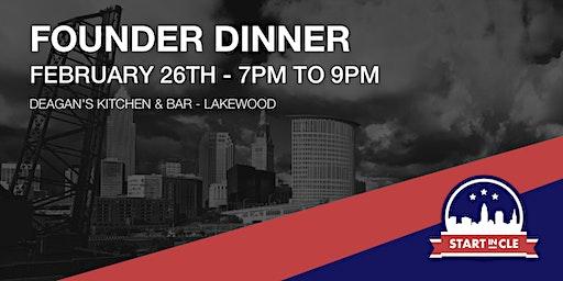 Start in CLE Founder Dinner - February 2020