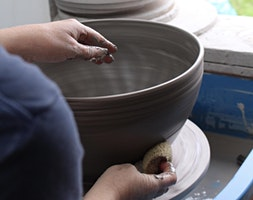 Pottery - Hand Building & Throwing - Project Lead with Jodie Crook-Giles