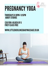 Pregnancy yoga classes tickets
