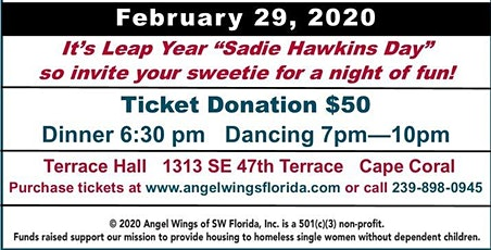 Angel Wings of Southwest Florida Leap Year Dance and Fundraiser tickets