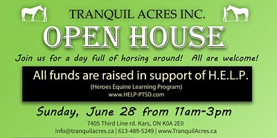 Tranquil Acres Farm OPEN HOUSE