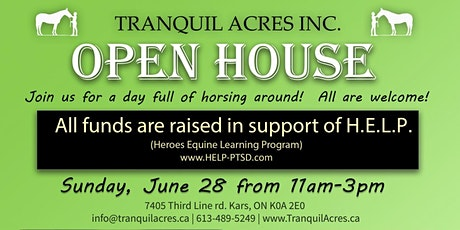 Tranquil Acres Farm OPEN HOUSE tickets