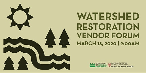 Watershed Restoration Vendor Forum