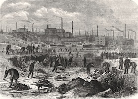 This 'Merikay War': Lancastrian poetic commentary on the American Civil War during the Cotton Famine