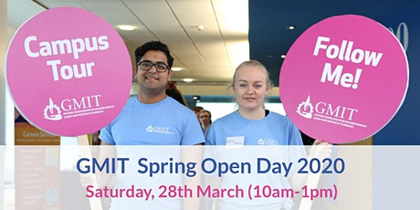 GMIT Spring Open Day 2020 tickets