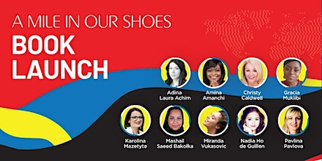 A Mile in Our Shoes: Personal stories of global journeys Book Launch tickets