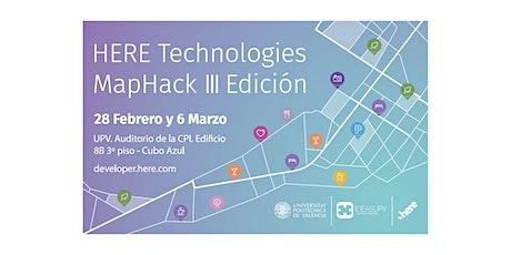 HERE Technologies MapHack III Edición entradas
