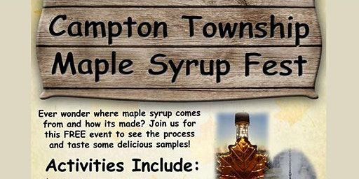 Campton Township Maple Syrup Fest