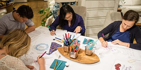 3/19 Modern Calligraphy Bootcamp at West Elm Broadway tickets