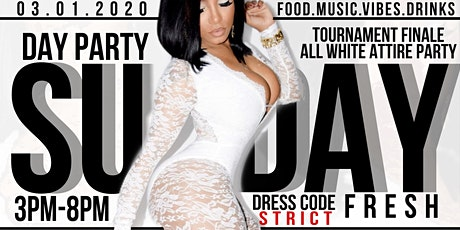 """""""SUNDAY FRESH"""" ALL WHITE DAY PARTY tickets"""