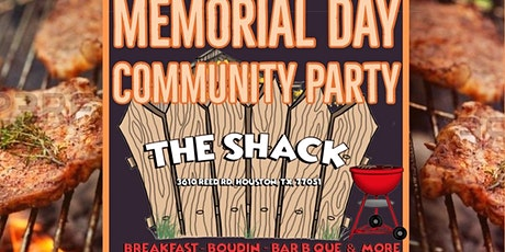 Memorial Day Community Party tickets