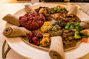 Malden Reads Community Dinner at Ethiopian Restaurant