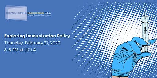 Paul Torrens Health Forum: Exploring Immunization Policy