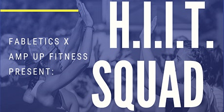 H.I.I.T. Squad Group Fitness Class at Fabletics tickets