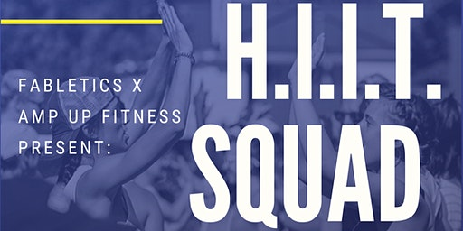 H.I.I.T. Squad Group Fitness Class at Fabletics