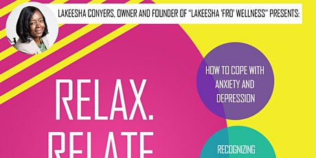 Relax. Relate. ReLEASE! tickets