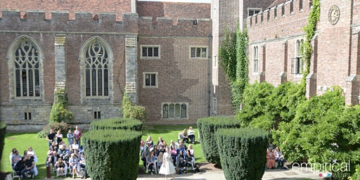Herstmonceux Castle Wedding Show by Empirical Events