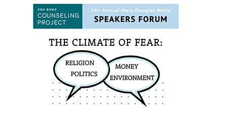 Pro Bono Counseling Project Speakers Forum Fundraiser tickets