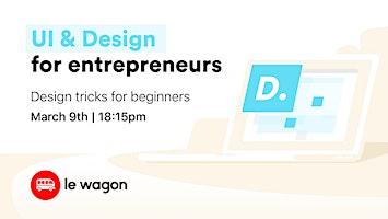 Free workshop: UI design for entrepreneurs