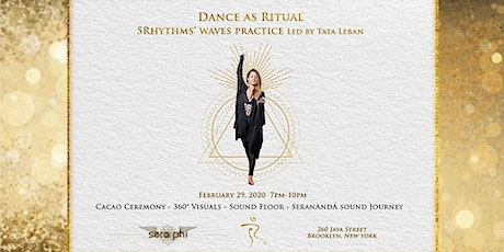 Dance as Ritual - 5Rhythms® Waves Practice Led by Tata Leban tickets
