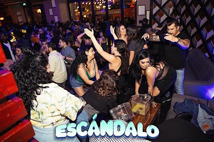 Escándalo - A Reggaeton  And Hip Hop Party image