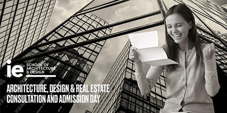 Architecture, Design, Real Estate & Cities Consultation Day - Master Programs tickets