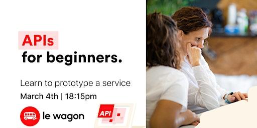 Free workshop: Basics of APIs