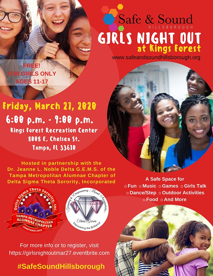 Girls Night Out - March 2020 image