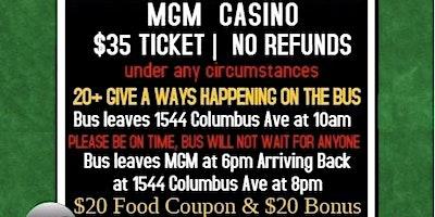 COMMUNITY CASINO TRIP TO MGM