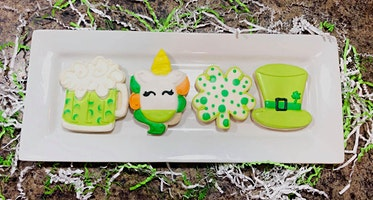 Luck of the Irish Cookie Decorating Class!