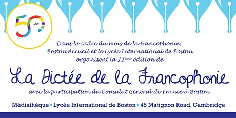 La Dictée de la Francophonie 2020 tickets