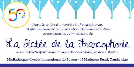La Dictée de la Francophonie 2020
