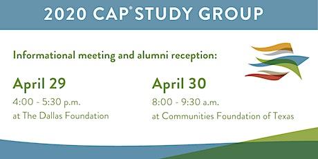 CAP® Study Group Informational Meeting/Alumni Reception (Dallas Foundation) tickets