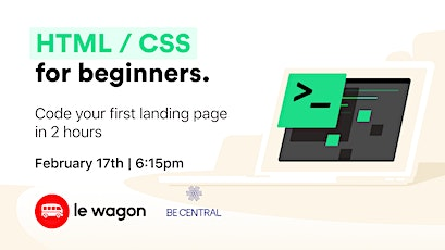 Free Workshop - Code your first landing page tickets
