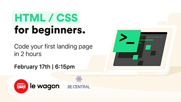 Free Workshop - Code your first landing page