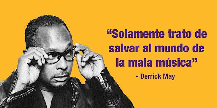 """Imagen de DERRICK MAY meets LA  GUASANGA  """"de los diurnos"""""""
