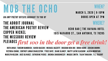 MOB THE OCHO: An AWP '20 Poetry Offsite