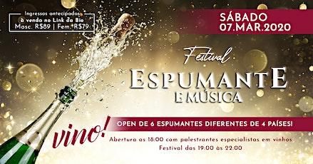 Festival Espumante e Música | Vino! - Mercadoteca ingressos