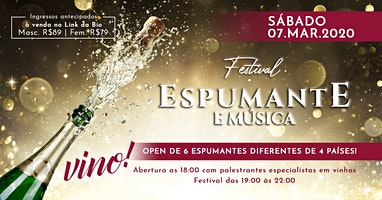 Festival Espumante e Música | Vino! - Mercadoteca