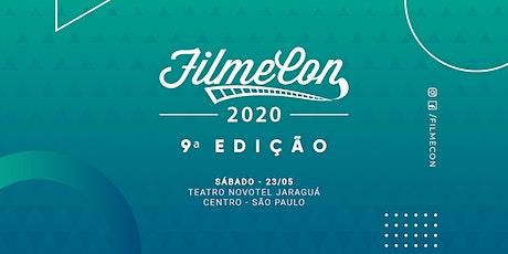 FilmeCon 2020 - 9ª edição do encontro audiovisual ingressos
