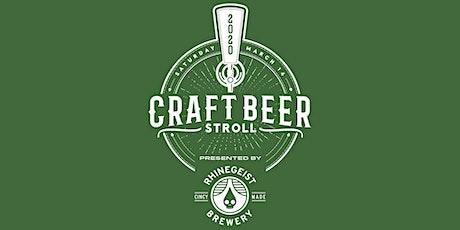 Craft Beer Stroll tickets