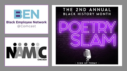 2nd Annual Black History Month Poetry Slam tickets