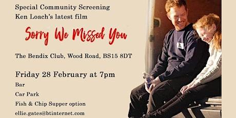 Kingswood LP Screening of 'Sorry We Missed You' tickets