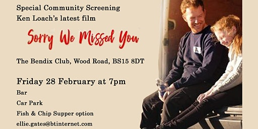 Kingswood LP Screening of 'Sorry We Missed You'