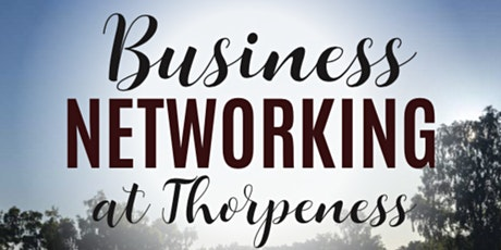 East Suffolk Networking - Thorpeness tickets