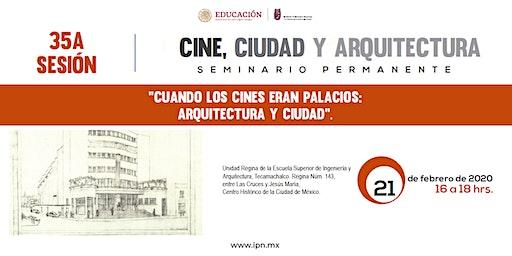 Seminario Cine, ciudad y arquitectura
